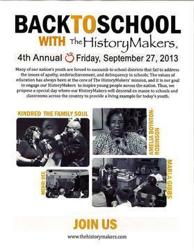 HistoryMakers Program Brings Black Leaders into Maryland Schools
