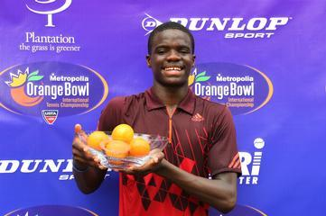 Prince George's Junior Sensation Francis Tiafoe Makes Tennis History