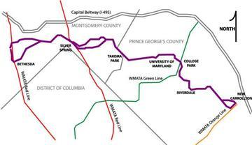 Md. Gov. O'Malley Announces Plans for Purple Line