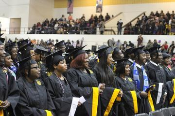 Bowie State Graduated 375 at Winter Commencement