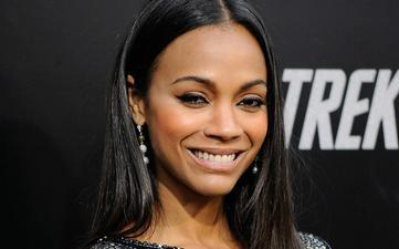 Zoe Saldana Sparkles in New Star Trek Installment