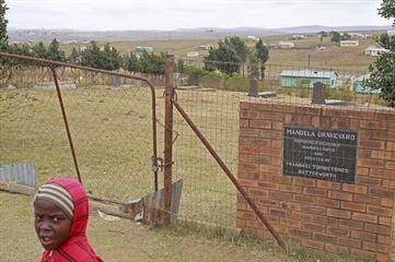 Mandela on Life Support as Family Grave Restored