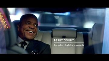 Motown's Berry Gordy Stars in Chrysler Ad