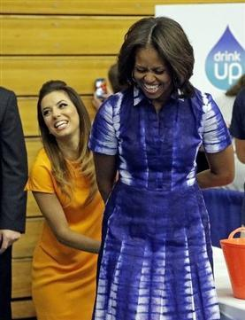 Michelle Obama  Wants People to Drink More Plain Water