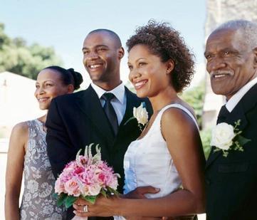 Black people marriage