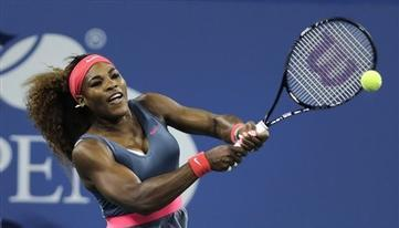 Serena Williams Dominates Lopsided 1st Rd U.S. Open Match