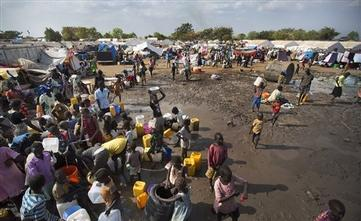 Fear Pulses Through Crowded S. Sudan Refugee Camp