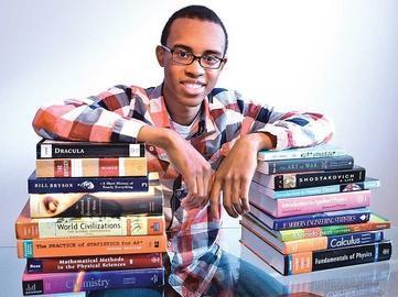 African American Teen Aces SAT