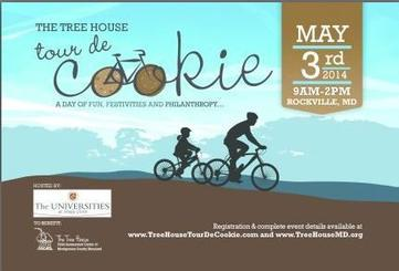 'Tour de Cookie' to Benefit Tree House Child Assessment  Center
