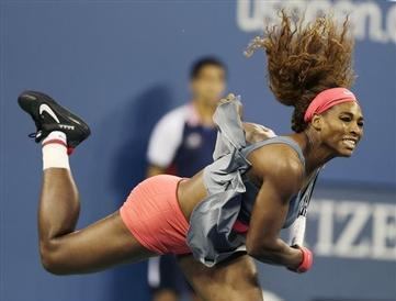 Serena Williams Close to Perfect in U.S. Open Quarterfinal Victory