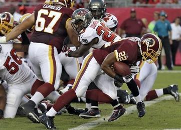 Redskins End Preseason Undefeated