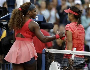 Serena Williams Moves into U.S. Open Finals