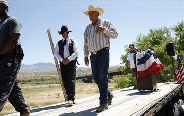 Nevada Rancher Labeled 'Hateful Racist' Had Limited Sympathy in the West