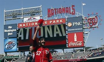 Nationals Hold 2nd Place in NL East with a 3-3 WL Week