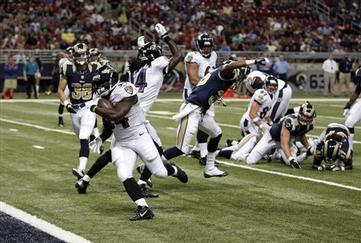 Ravens Lose to Rams in Preseason Finale