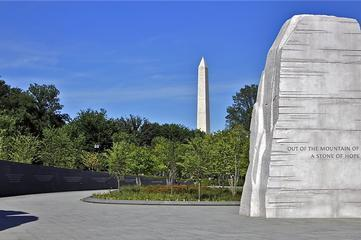 From Memorial in D.C., Dr. King Still Presides Over Peace in America