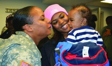 D.C.  National Guard Unit Returns Home for the Holidays