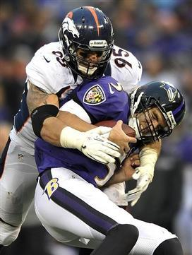 Ravens Suffer Depressing Loss to Broncos--Nevertheless Clinch AFC North