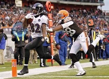 Ravens Pound Browns with Running Game Victory