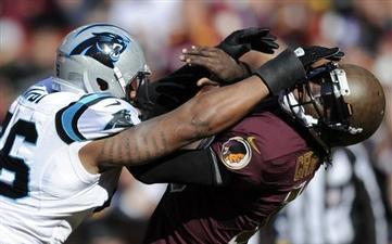 Newton Outduels Griffin as Panthers Top Redskins