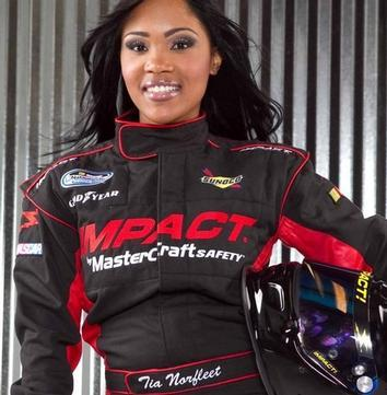 Tia Norfleet Earning Place as First Black Female NASCAR Driver