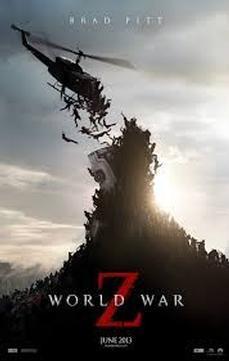Brad Pitt Battles Zombies