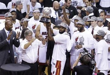 LeBron, Miami Blowout Indiana to March into Fourth Straight NBA Finals