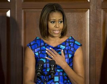 Michelle Obama Assails House GOP Attempt to Skirt School Meals Mandate