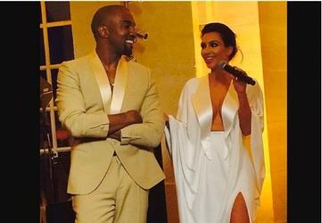 Kardashian-Kanye are Wed in Florence Fortress