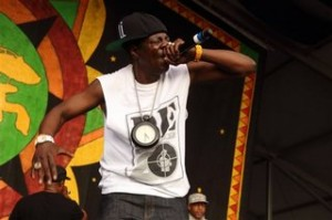 Flavor Flav, Public Enemy, 2014 New Orleans Jazz Festival