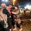 Monday Night:  Police, Protesters Collide Again in Ferguson