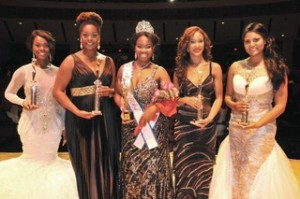 Miss Black USA front page