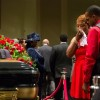 Mourners Gather in St. Louis for Brown Funeral