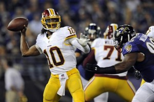 Robert Griffin III, Brandon Williams