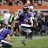 Tucker Kicks Game-Winner as Ravens Survive in Cleveland