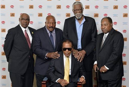 'I Got Your Back Bro': The Moment Jim Brown, Kareem Abdul-Jabbar, Bill Russell etc. Stood up for Muhammad Ali