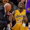 Lakers Rookie Julius Randle Out for Season with Broken Leg
