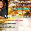 Mount Carmel Baptist Church to Host Anniversary Celebration