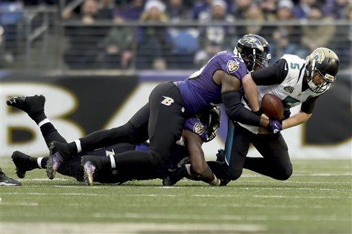 Ravens Defense Key in Ugly Win over Jaguars