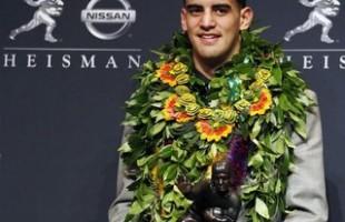 Oregon QB Marcus Mariota Wins Heisman Trophy