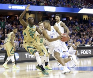 NCAA Notre Dame Kentucky Basketball