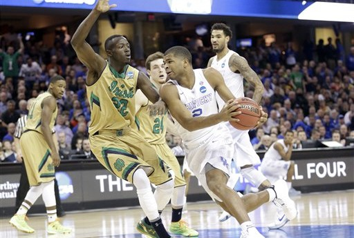 Kentucky Escapes Notre Dame in Elite Eight Round