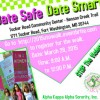 AKAs' Upsilon Tau Omega Chapter to Host Third Annual Teen Dating Violence Awareness Walk