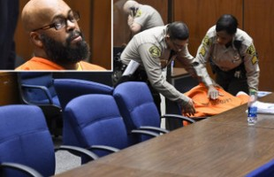 Ex Rap Mogul 'Suge' Knight Collapses in Court after Bail Hearing