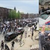 Demonstration for Freddie Gray Marred by Violence