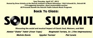 Soul, Motown Artists to Gather for Detroit Schools Benefit