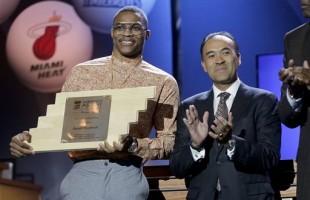 NBA Superstar Russell Westbrook Receives NBA Cares Community Assist Award