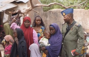 Nigeria Military Releases Photos of Some Rescued Females