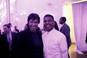 DCCAPMayor Muriel Bowser and 2nd Place Winner Carlos Hood
