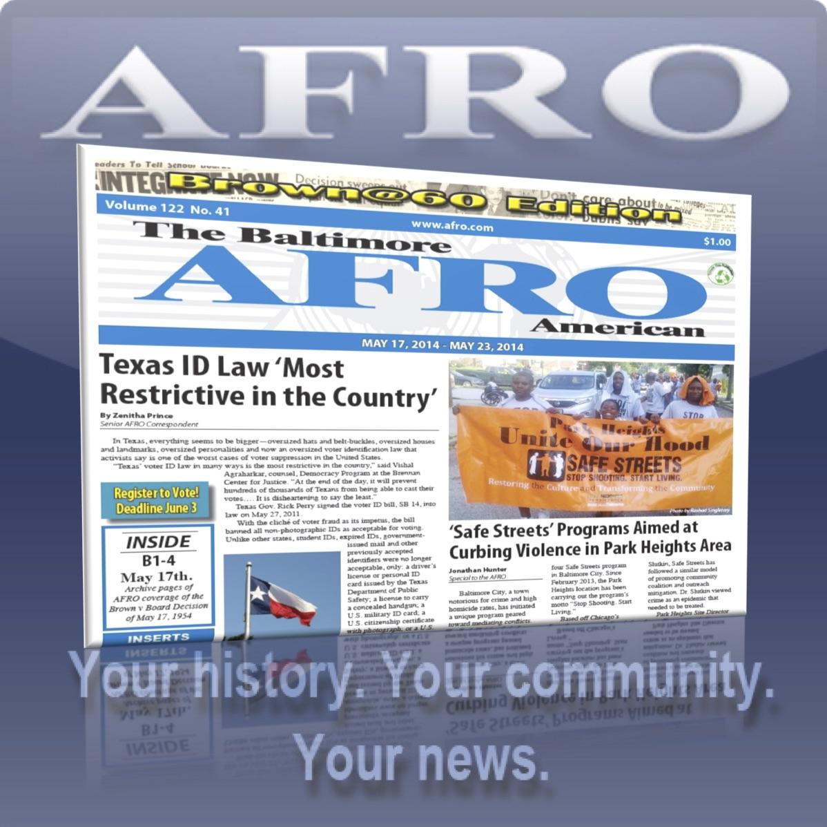 AFRO Button - Baltimore